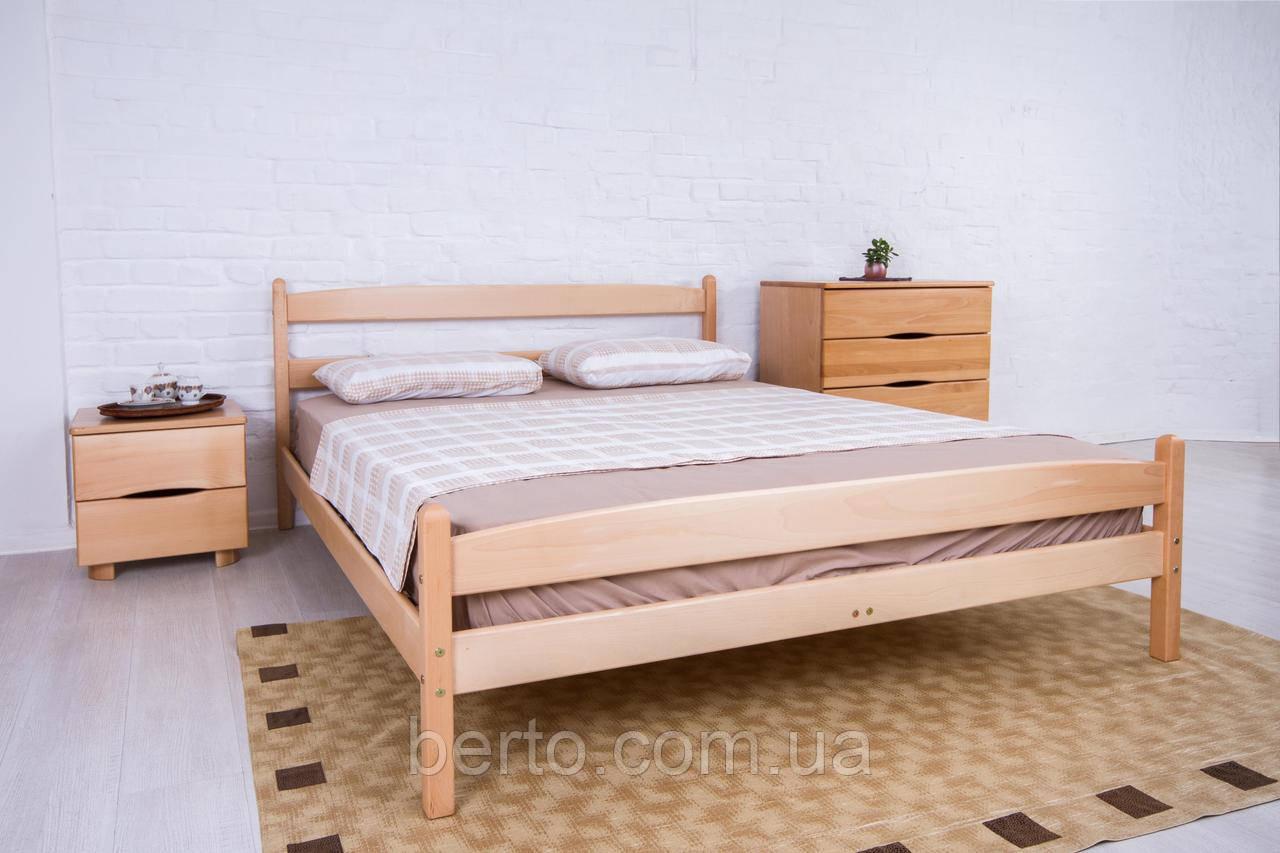 """Кровать деревянная двуспальная """"Ликерия"""" с изножьем 1400*2000"""
