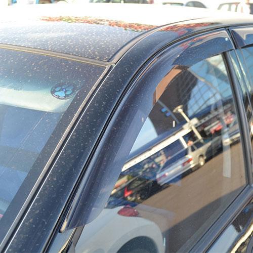 COBRA TUNING Дефлекторы окон на Hyundai Getz '02-11 хэтчбек 5d (накладные)