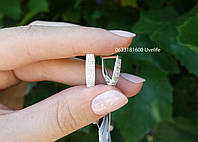 Серебряные серьги арт. 110075