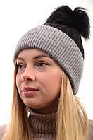 Женские вязаные шапки оптом лот12шт