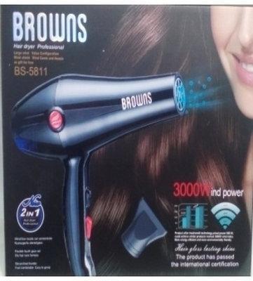Фен для волос Browns BS-5808 3000W c ионизацией
