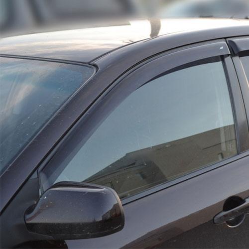 COBRA TUNING Дефлекторы окон на Mazda 6 (GG/GY) '02-08 седан (накладные)