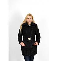 Куртка женская зимняя, черная размер L