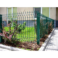Металлический забор - секция 0,95х2,5м