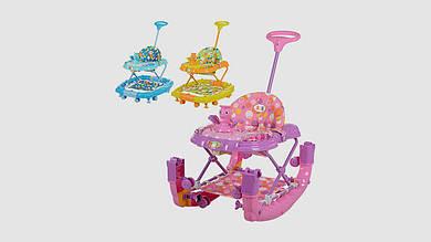 Детские ходунки-каталка. Уточка BAMBI BL 6223 SYT. 3 цвета