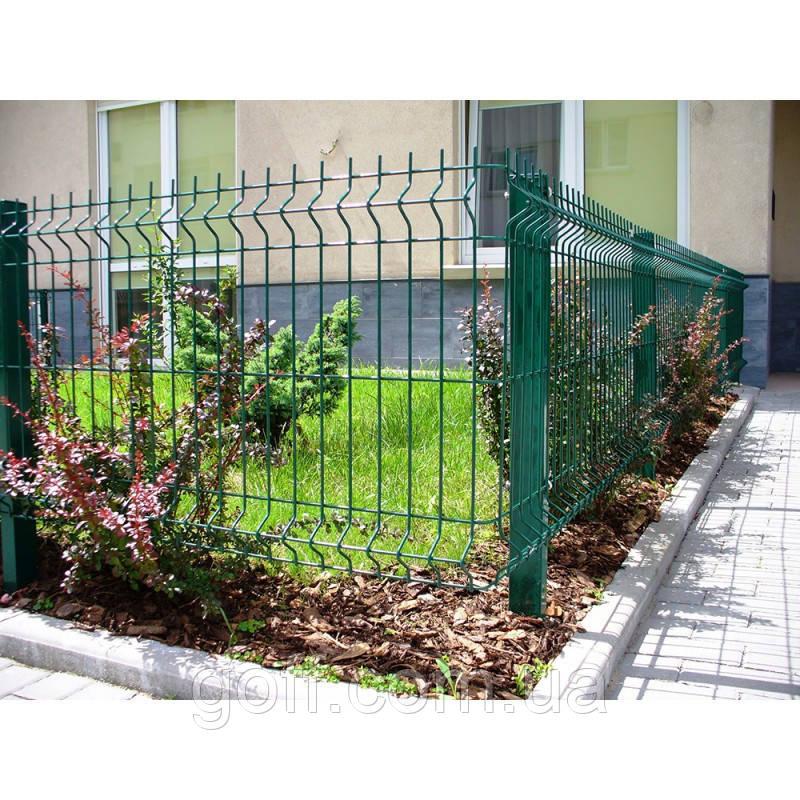 Металлический забор - секция 1,5х3,0м