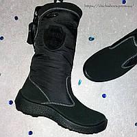 Стильные черные сапоги Floare (мембранная обувь) 33 р.