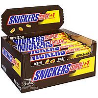 Батончик Snickers+1 / Сникерс +1 ( 20х112,5 г )