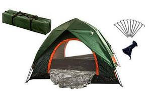 Палатка туристическая двойная 2*2*1.35м (01228)