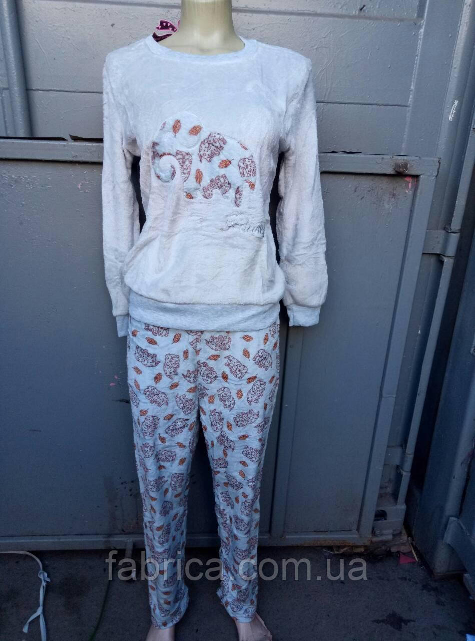 Пижамы, домашние костюмы махра