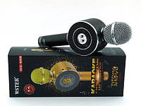Беспроводной микрофон караоке bluetooth WS-668 Black