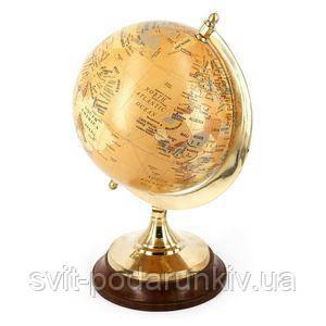 Сувенирный глобус на подставке - фото