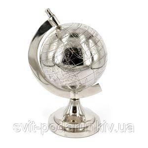 Подарочный глобус из металла - фото