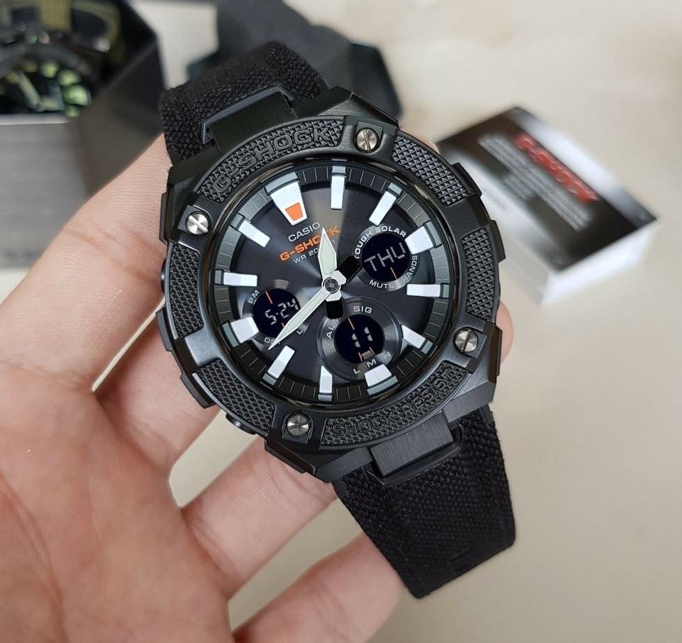 Часы Casio G-Shock G-Steel GST-S130BC-1A TOUGH SOLAR