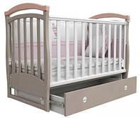 Детская кроватка Верес- Соня ЛД 6 с ящиком и маятником