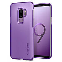 Чехол Spigen для Samsung S9 Plus Thin Fit, Lilac Purple, фото 1
