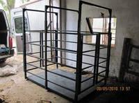 Электронные весы для взвешивания крупного рогатого скота УВК-СК