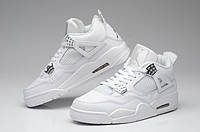 Мужские кроссовки Air Jordan Retro 4 (FullWhite), фото 1