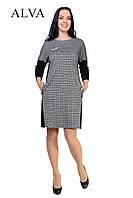 Платье со спинкой черного цвета   48-54, фото 1