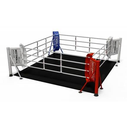 Ринг для бокса V`Noks напольный 4,5*4,5 м, фото 2