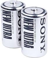 Батарейки Sony R20