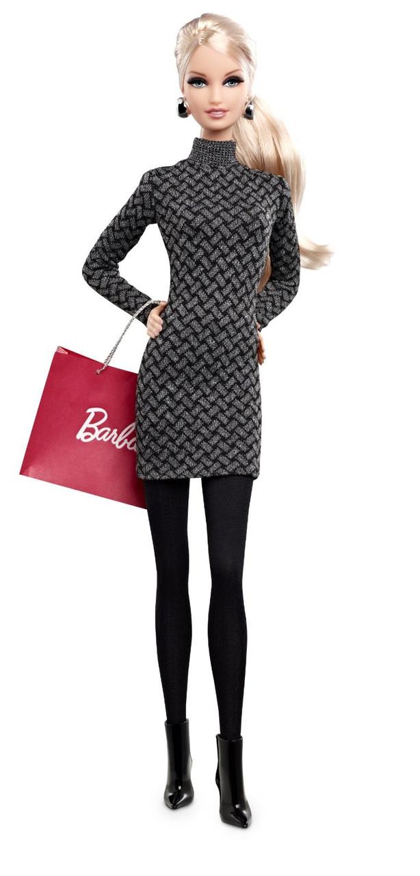 Коллекционная кукла Барби Шоппинг в городе Barbie City Shopper Doll with Grey Dress