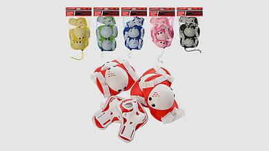 Детская защита для роликов. PROFI MS 0032-1. 6 цветов