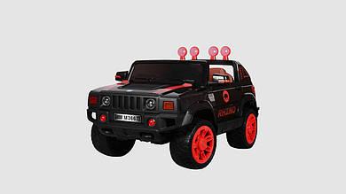 Электромобиль джип BAMBI на радиоуправлении. Колеса EVA. Черно-красного цвета