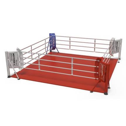 Ринг для бокса V`Noks напольный 5,5*5,5 м, фото 2