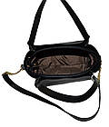 Женская бордовая с бронзовыми вставками сумка Michael Kors (23*26*12) , фото 5