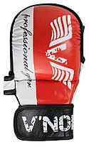 Перчатки MMA V`Noks Lotta Red S/M, фото 3