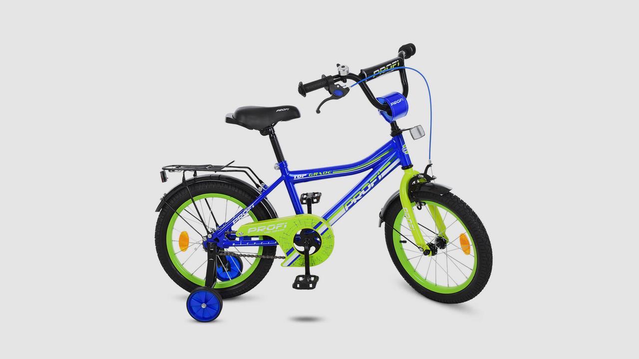 77cd268d4a7 Велосипед детский PROFI Y14103 14 дюймовые колеса. Синий., цена 1 511 грн.,  купить в Одессе — Prom.ua (ID#802822436)