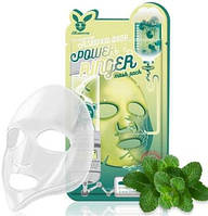 Тканевая маска для лица с центеллы Elizavecca Centella Asiatica Deep Power Ringer Mask Pack