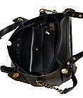 Женская бордовая сумка Michael Kors (28*32*13), фото 4