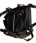 Женская бежевая сумка Michael Kors (28*32*13), фото 6