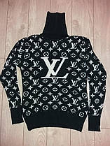 Вязаный свитер женский.Турция. Louis Vuiton(размер 42-44-46)