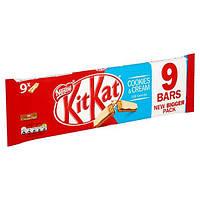Kit Kat cookies cream 9 батончиков