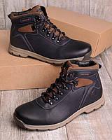 Мужские ботинки на шнуровке р.40-45