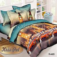 Детское постельное белье полуторное односпальное TM Krispol 150*220 автомобили 184400 с
