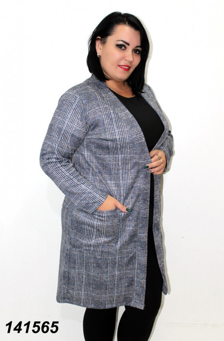 Кардиган женский с карманами, ангоровый 50,52,54,56