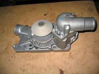 Насос водяной (помпа) Газель,Волга двигатель 560 Steyer (с термостатом) (производство Сателлит)
