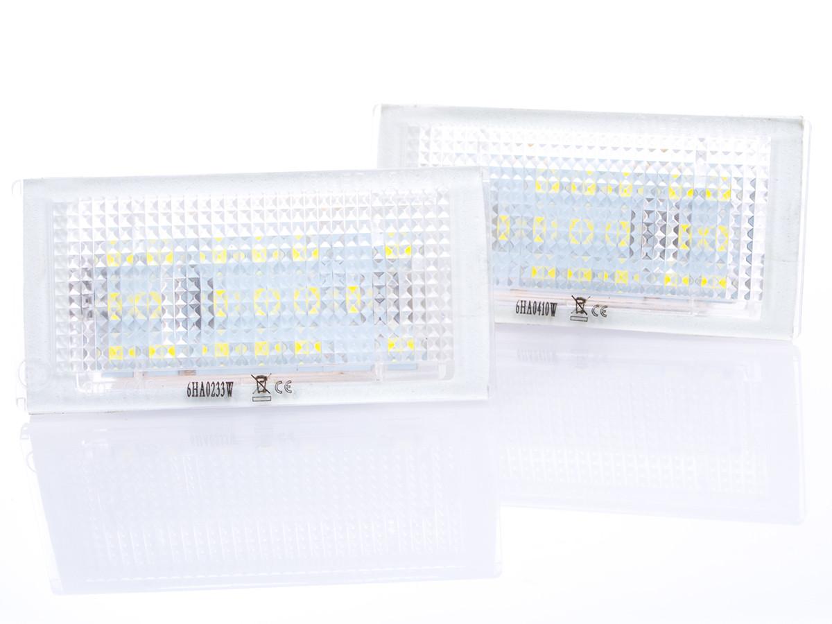 Подсветки номерного знака 1 пара (2 шт.)