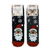 Носки женские новогодние Дед Мороз EKMEN 12 пар в упаковке