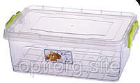 Контейнер пищевой плоский Elit №4 4 л, Ал-Пластик, Арт.: 18