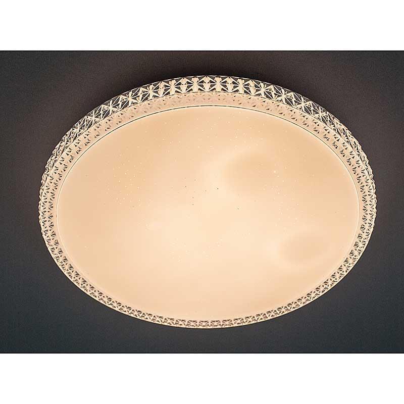 LED Светильник круглый SMART Люстра CRYSTAL 70W 50 см диаметр