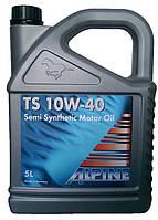 Моторное масло полусинтетика Alpina (Альпина) 10w40 5л