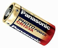 Батарейка Panasonic CR123A (1 шт.)