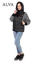 Куртка-с капюшоном, утепленная синтепоном     Размеры: 46-52 , фото 1