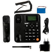 Телефон GSM для пожилых людей Termit FixPhone V 2 с русским языком и большими кнопками, фото 3