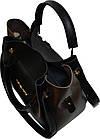 Женская черная сумка с клачем Michael Kors (24*28*14) , фото 5